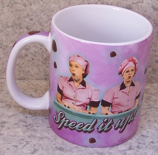 Lucy Chocolate Factory entertainment coffee mug thumbnail